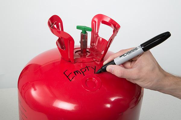 Recyling & Disposal   Helium Balloon Cylinder