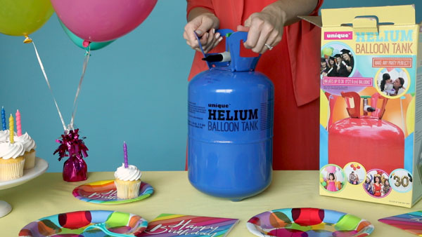 How to Inflate Balloons | Helium Balloon Cylinder
